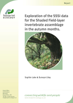 Lake and Liley - 2012 - Exploration of the shade-layer SSSI invertebrate a