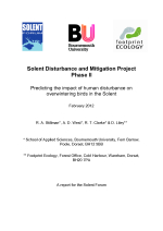 Stillman et al. - 2012 - Solent Disturbance and Mitigation Project Phase II
