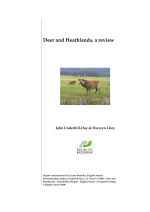 Underhill-Day and Liley - 2006 - Deer and heathlands, a review. A report to English