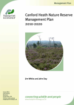 White, J. and Underhill-Day, J. - 2010 - Canford Heath Nature Reserve Management Plan 2010-